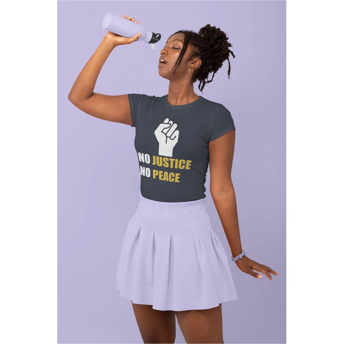 No Justice No Peace Women's T-shirt