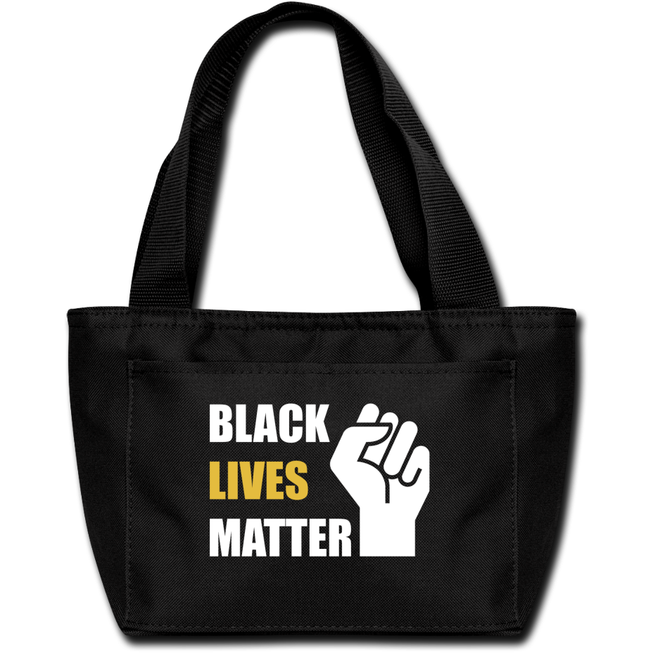 BLM Lunch Bag - black