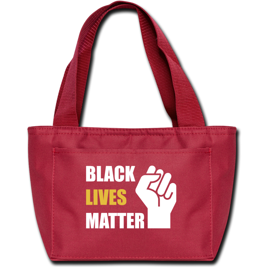 BLM Lunch Bag - red