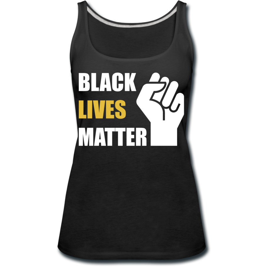 BLM Women's Premium Tank Top - black