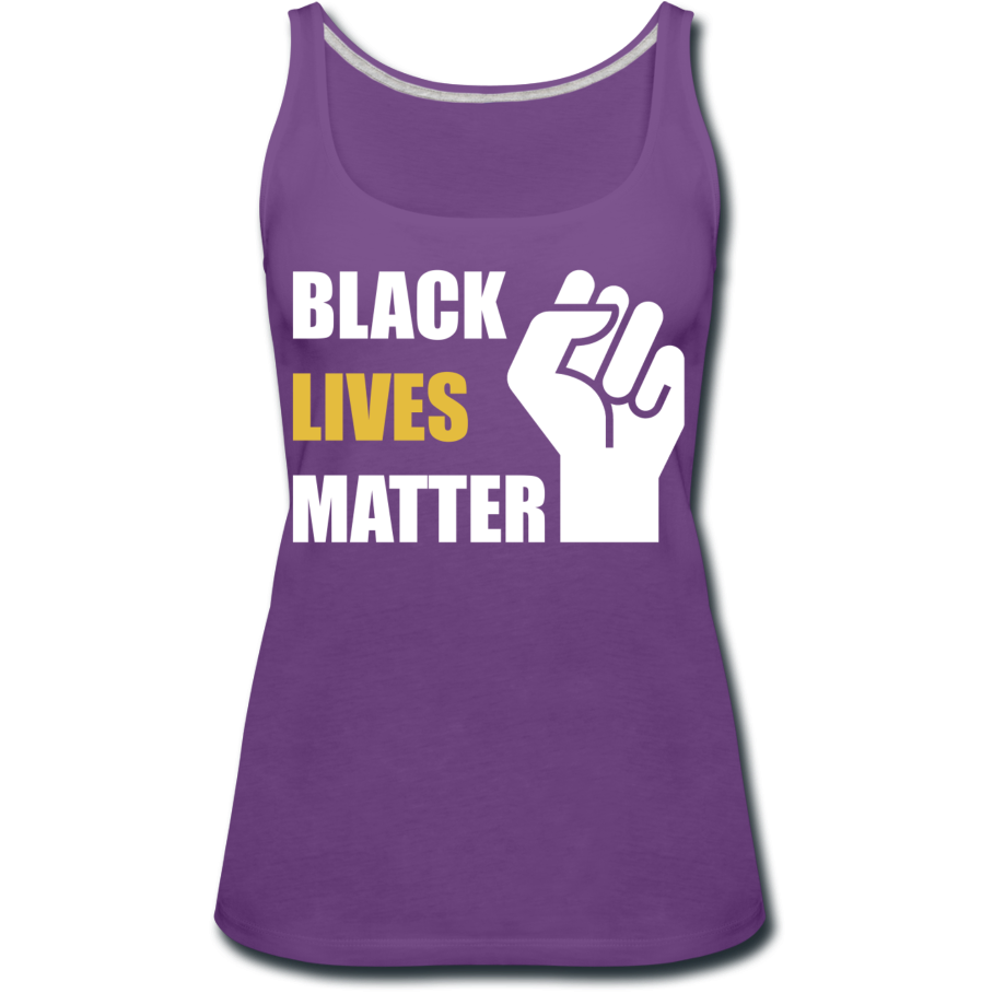 BLM Women's Premium Tank Top - purple