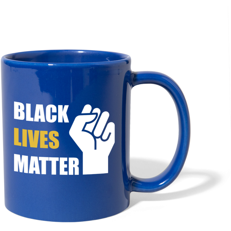 BLM Mug - royal blue