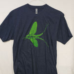 Medium Green Drake T shirt $8 Fly Fishing T shirt - Stripn Flywear