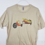 Large Big Wheel T shirt $8 Fly Fishing T shirt - Stripn Flywear