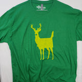 XXLarge MT Deer Body T shirt $8 Fly Fishing T shirt - Stripn Flywear