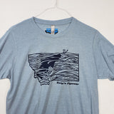 Medium Montana Rise T shirt $8 Fly Fishing T shirt - Stripn Flywear
