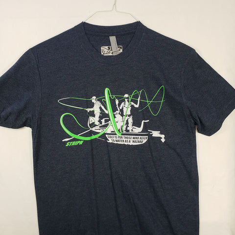 Small Hazard T shirt $8 Fly Fishing T shirt - Stripn Flywear