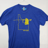Small Idaho Go West T shirt $8 Fly Fishing T shirt - Stripn Flywear