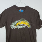 Small Brown Trout T shirt $8 Fly Fishing T shirt - Stripn Flywear