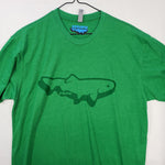 Large Stripn Trout Logo T shirt $8 Fly Fishing T shirt - Stripn Flywear