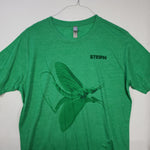 Large Green Drake T shirt $8 Fly Fishing T shirt - Stripn Flywear