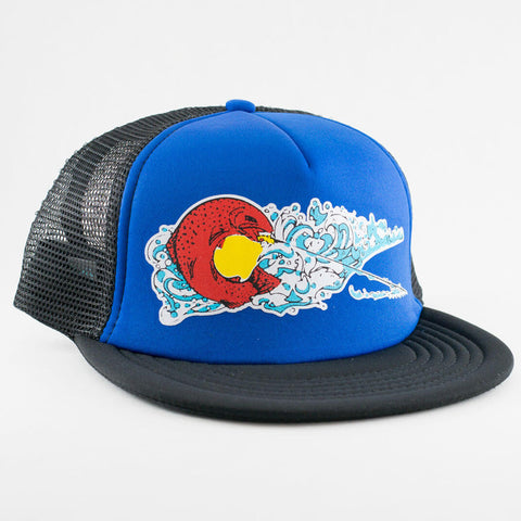 Colorado Rise Foam Trucker Fly Fishing Hat - Stripn Flywear