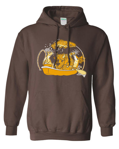 Bison Boat Hoody Fly Fishing Hoody - Stripn Flywear