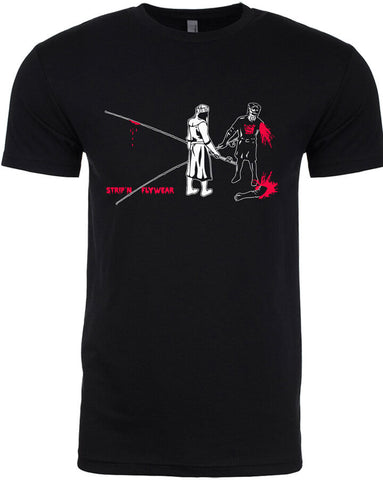 Black Knight T shirt Fly Fishing T shirt - Stripn Flywear