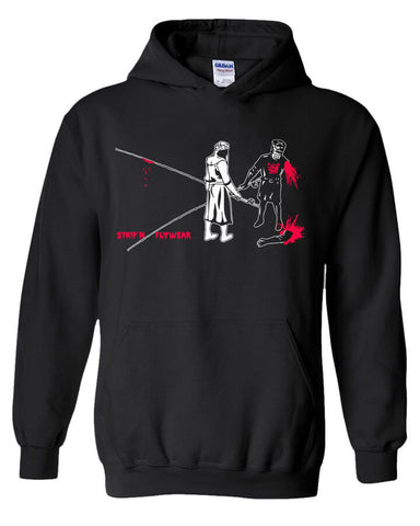 Black Knight Hoody Fly Fishing Hoody - Stripn Flywear