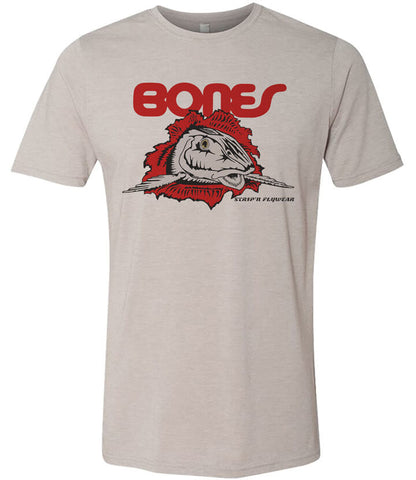 Bones T shirt Fly Fishing T shirt - Stripn Flywear