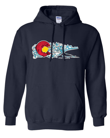 Colorado Rise Hoody Fly Fishing Hoody - Stripn Flywear