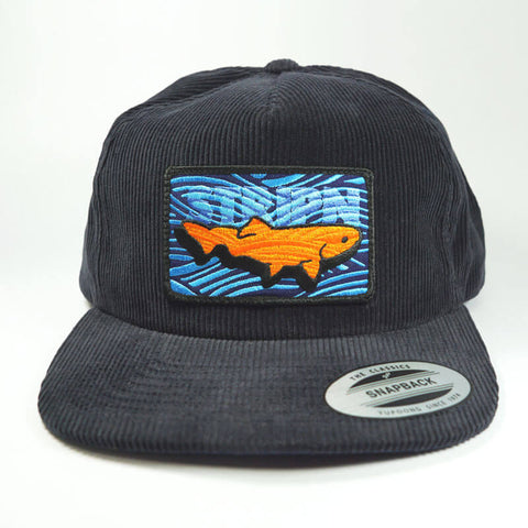 Corduroy Snapback Fly Fishing Hat - Stripn Flywear