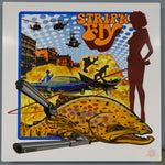 "Superfly Metal Print 6""x6"" $14 Yard Sale Art - Stripn Flywear"