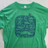 XXL 100 Fish Day T shirt $8 Fly Fishing T shirt - Stripn Flywear