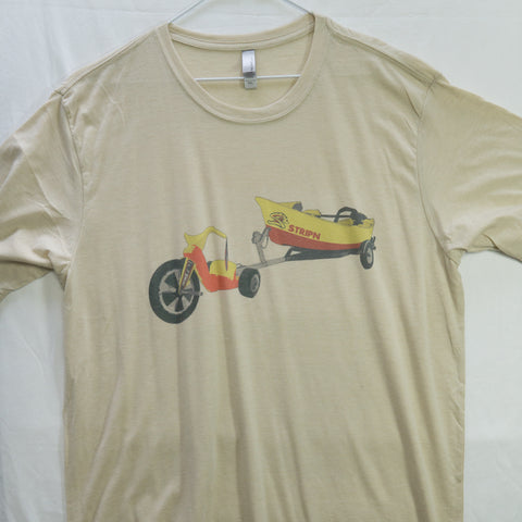 XXL Big Wheel T shirt $8 Fly Fishing T shirt - Stripn Flywear