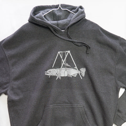XLarge Steelie Swing Hoody $20 Fly Fishing T shirt - Stripn Flywear