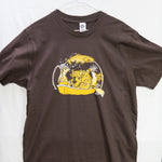 Large Bison Boat (Made in US) T shirt $9 Fly Fishing T shirt - Stripn Flywear