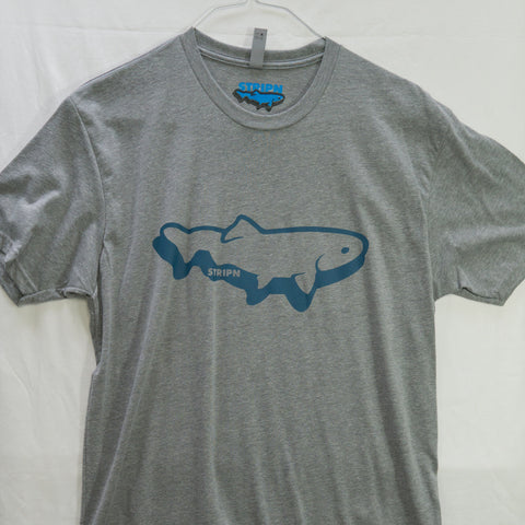 Large Stripn Logo T shirt $8 Fly Fishing T shirt - Stripn Flywear