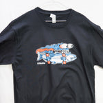 Large Splasher (Made in US) T shirt $9 Fly Fishing T shirt - Stripn Flywear
