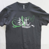 Medium Hazard T shirt $8 Fly Fishing T shirt - Stripn Flywear