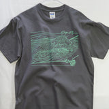 Medium Ripples T shirt $8 Fly Fishing T shirt - Stripn Flywear