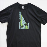 Small Idaho Rise (Made in US) T shirt $9 Fly Fishing T shirt - Stripn Flywear
