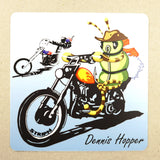 "Dennis Hopper Sticker 5"" x 5"" Fly Fishing Sticker - Stripn Flywear"