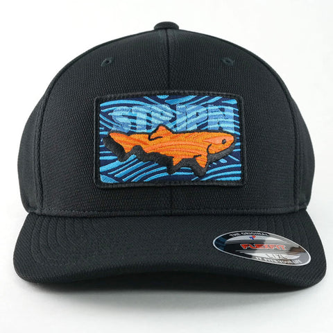 FlexFit Patched Hat Fly Fishing Hat - Stripn Flywear
