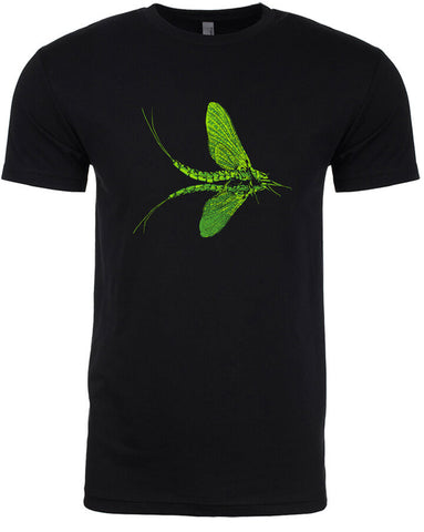 Green Drake T shirt Fly Fishing T shirt - Stripn Flywear