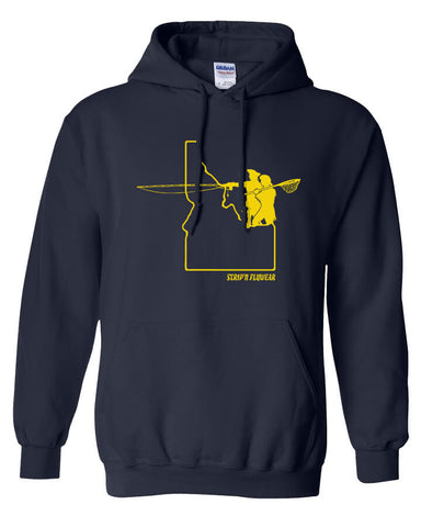 Go West Idaho Hoody Fly Fishing Hoody - Stripn Flywear