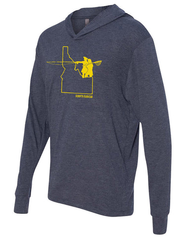 Go West Idaho Lightweight Hoody Lightweight Fly Fishing Hoody - Stripn Flywear