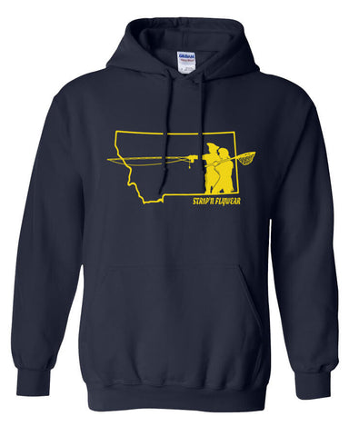 Go West Montana Hoody Fly Fishing Hoody - Stripn Flywear