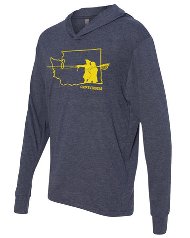Go West Washington Lightweight Hoody Lightweight Fly Fishing Hoody - Stripn Flywear