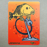 "Housekeeping Sticker 4"" x 5.5"" Fly Fishing Sticker - Stripn Flywear"