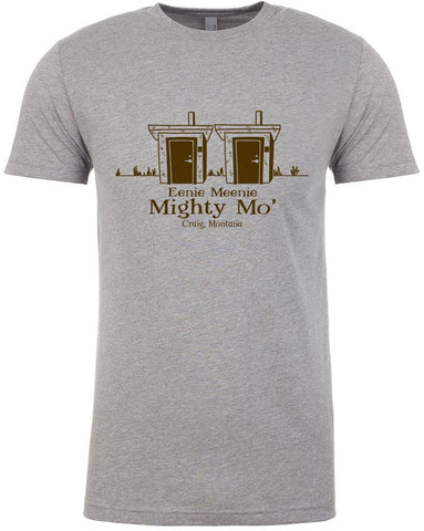Mighty Mo' T shirt Fly Fishing T shirt - Stripn Flywear