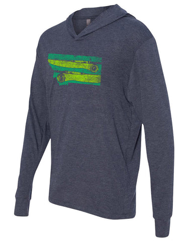 Montana Rods Lightweight Hoody Lightweight Fly Fishing Hoody - Stripn Flywear