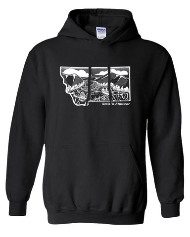 Montana Drift Hoody Fly Fishing Hoody - Stripn Flywear