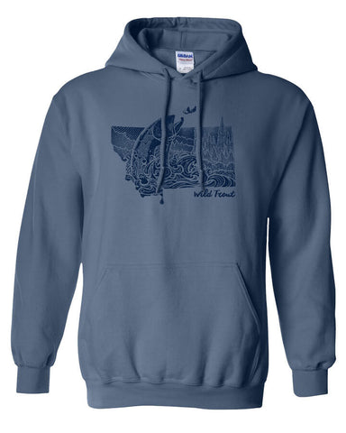 Montana Splash Hoody Fly Fishing Hoody - Stripn Flywear