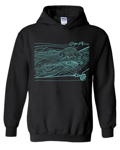 Ripples Hoody Fly Fishing Hoody - Stripn Flywear