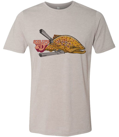 Superfly T shirt Fly Fishing T shirt - Stripn Flywear