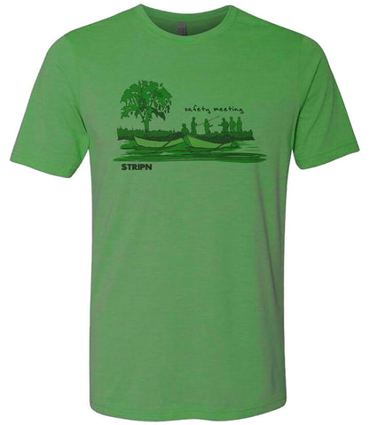 Safety Meeting T shirt Fly Fishing T shirt - Stripn Flywear