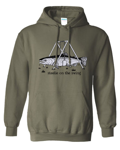 Steelie Swing Hoody Fly Fishing Hoody - Stripn Flywear