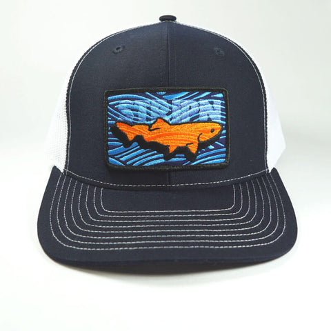 Sportsman Trucker Fly Fishing Hat - Stripn Flywear