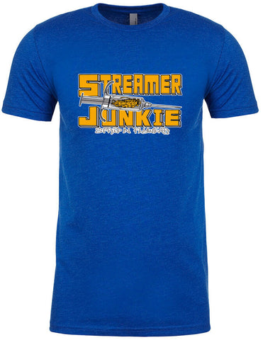 Streamer Junky T shirt Fly Fishing T shirt - Stripn Flywear